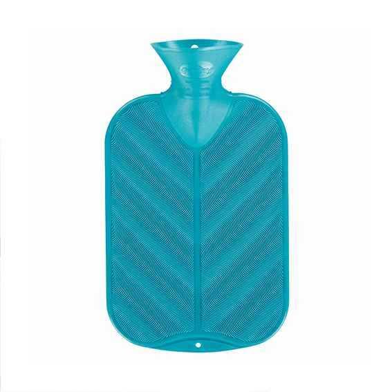 Wärmeflasche 3D Wellen smaragd
