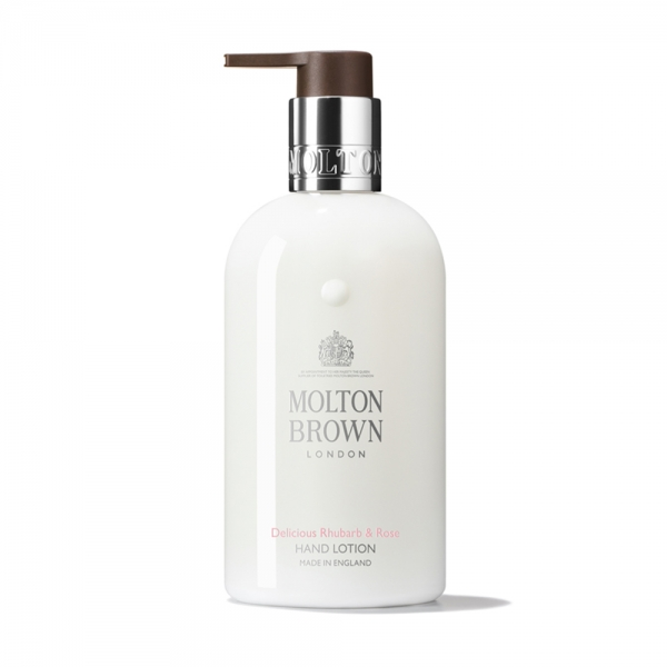 Delicious Rhubarb Rose Hand Lotion