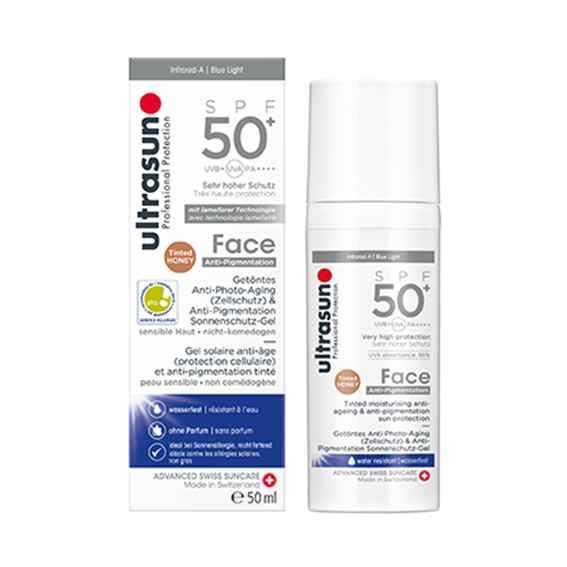 Sun Face Anti-Pigmentation SPF50+ Honey