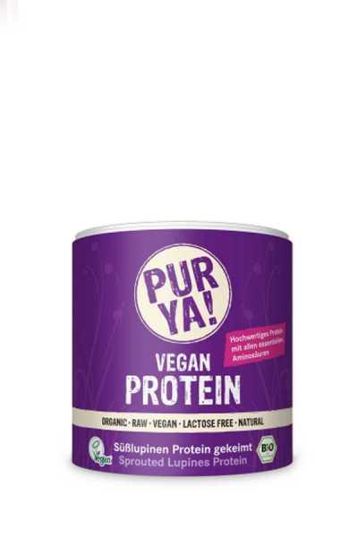 Vegan Süsslupinen Protein Bio Pulver