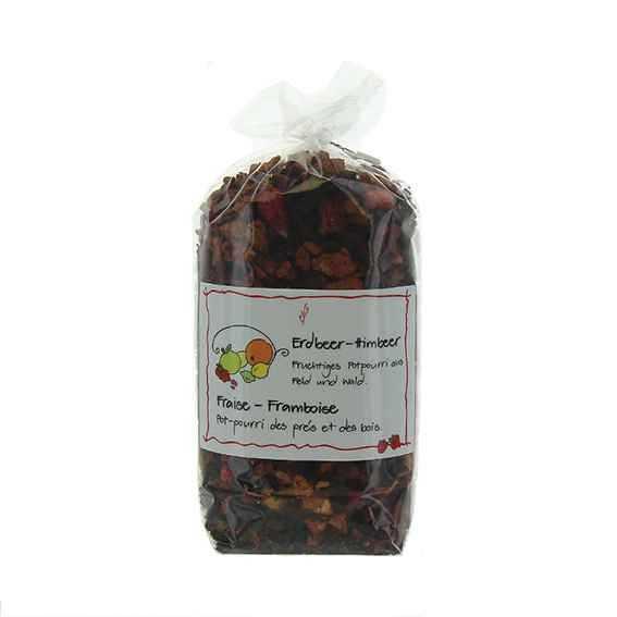 Früchtetee Erdbeer Himbeer
