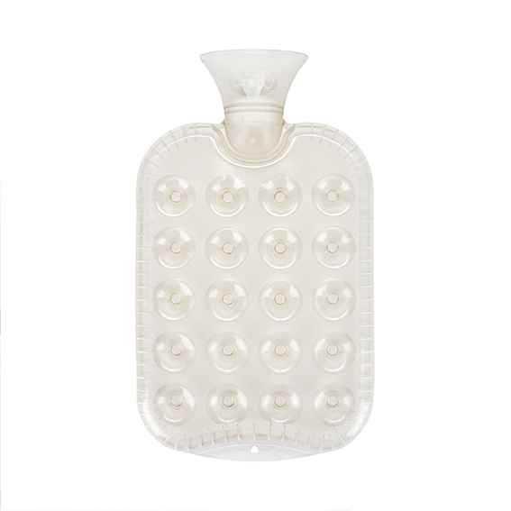 Wärmeflasche flach transparent