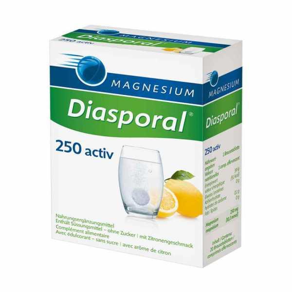 Magnesium Diasporal Activ Brausetabletten Zitrone