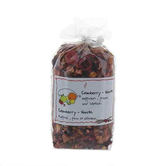 Früchtetee Cranberry-Vanille
