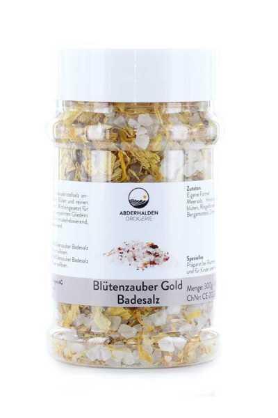 Blütenzauber Badesalz Gold