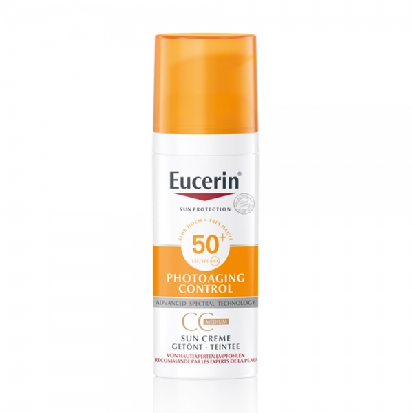 Sun Creme Gesicht getönt SPF 50+ medium