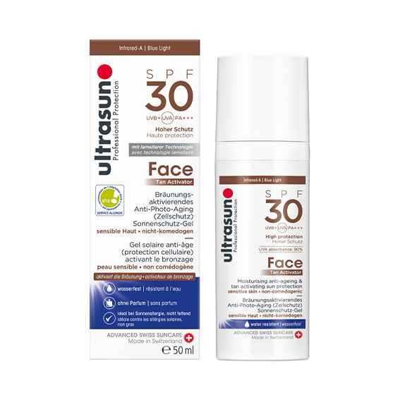 Sun Face Tan Activator SPF30