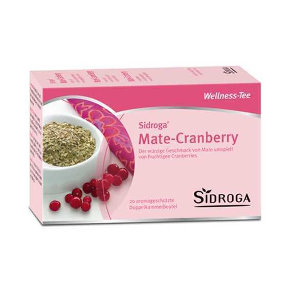Wellness Mate & Cranberry Tee Beutel