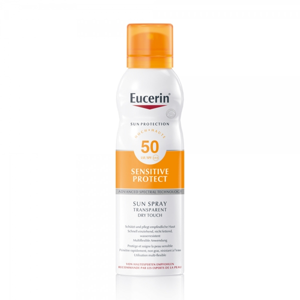 Sun Spray Dry Touch Transparent SPF 50