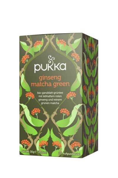 Ginseng Matcha Green Tee