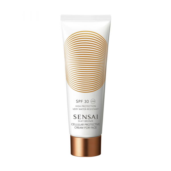 Silky Bronze Cellular Protective Cream for Face