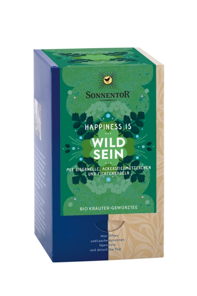Happiness is Wild sein Tee